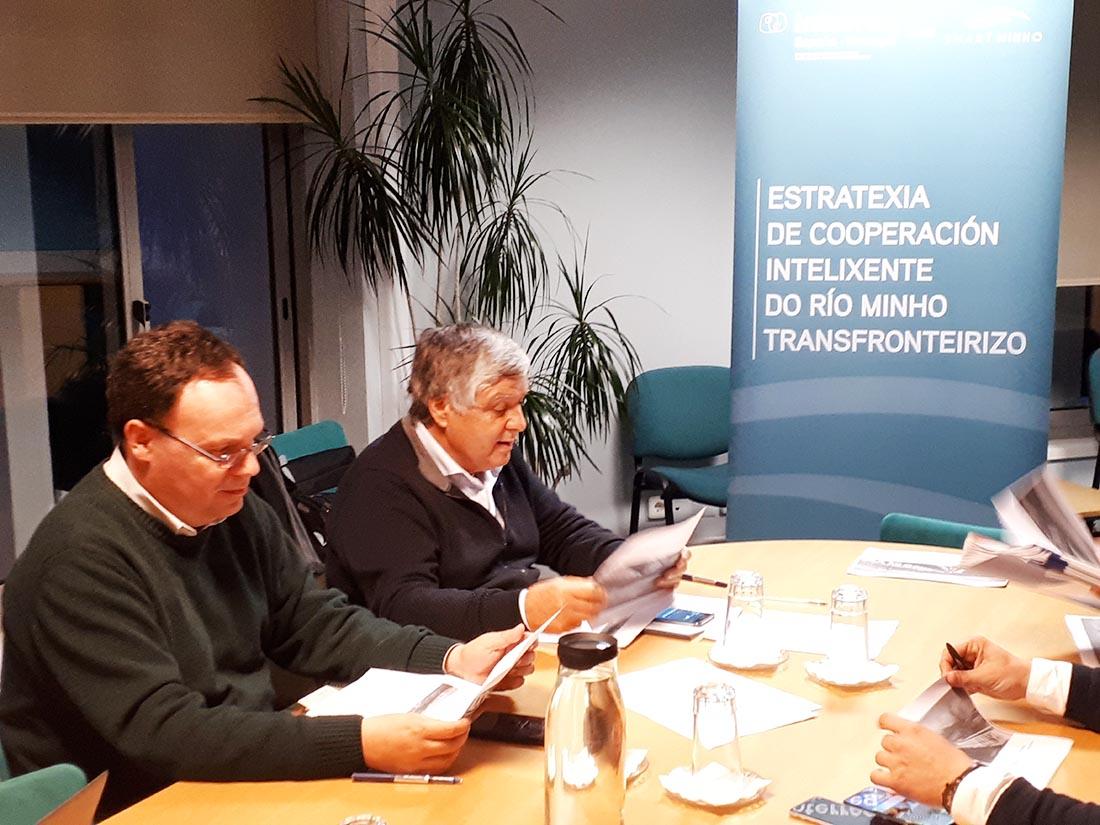 O grupo de traballo da AECT revisa os proxectos postos en marcha