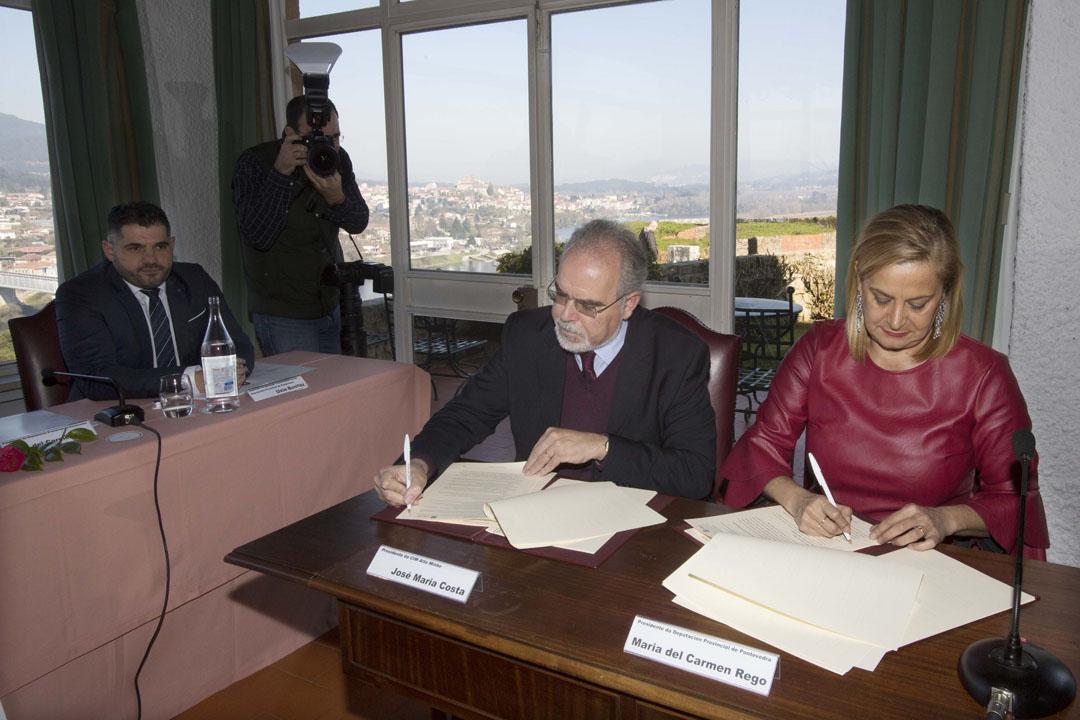 Día histórico para os concellos transfronteirizos de Pontevedra e do norte de Portugal co nacemento da nova AECT Rio Minho