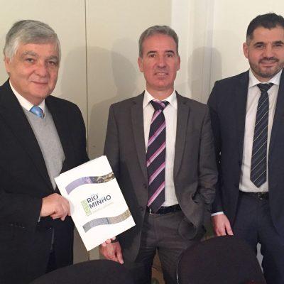Reunión AECT co Secretario de Estado de Valorización Interior de Portugal