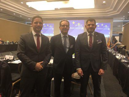 encontro anual de agrupamentos europeos