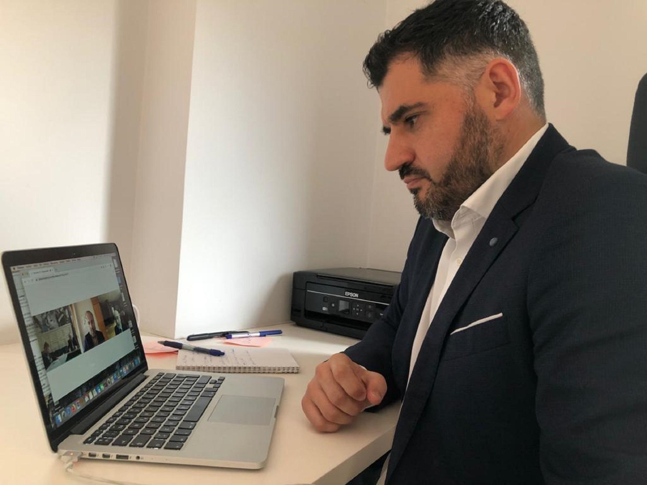 Director AECT - reunión videoconferencia