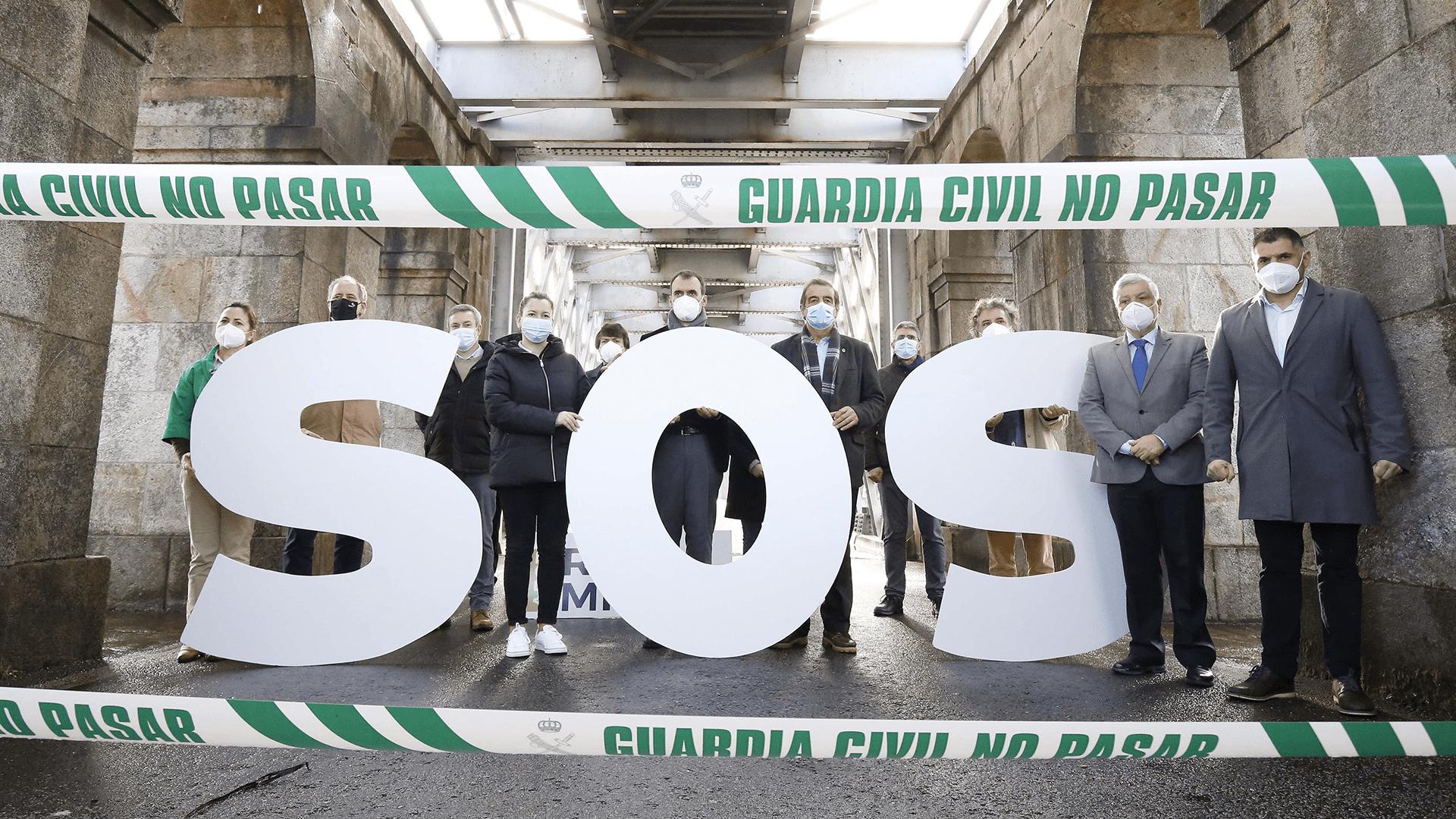 """O AECT Minho considera as medidas para abrir a fronteira com Portugal """"insuficientes"""" e irá incrementar os protestos"""