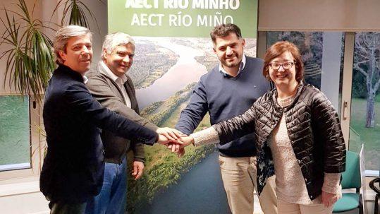 Uxío Benítez, elixido director da nova Agrupación Europea de Cooperación Territorial Rio Minho