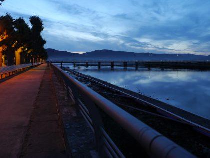 mobilidade transfronteiriza, ponte e paseo nocturno