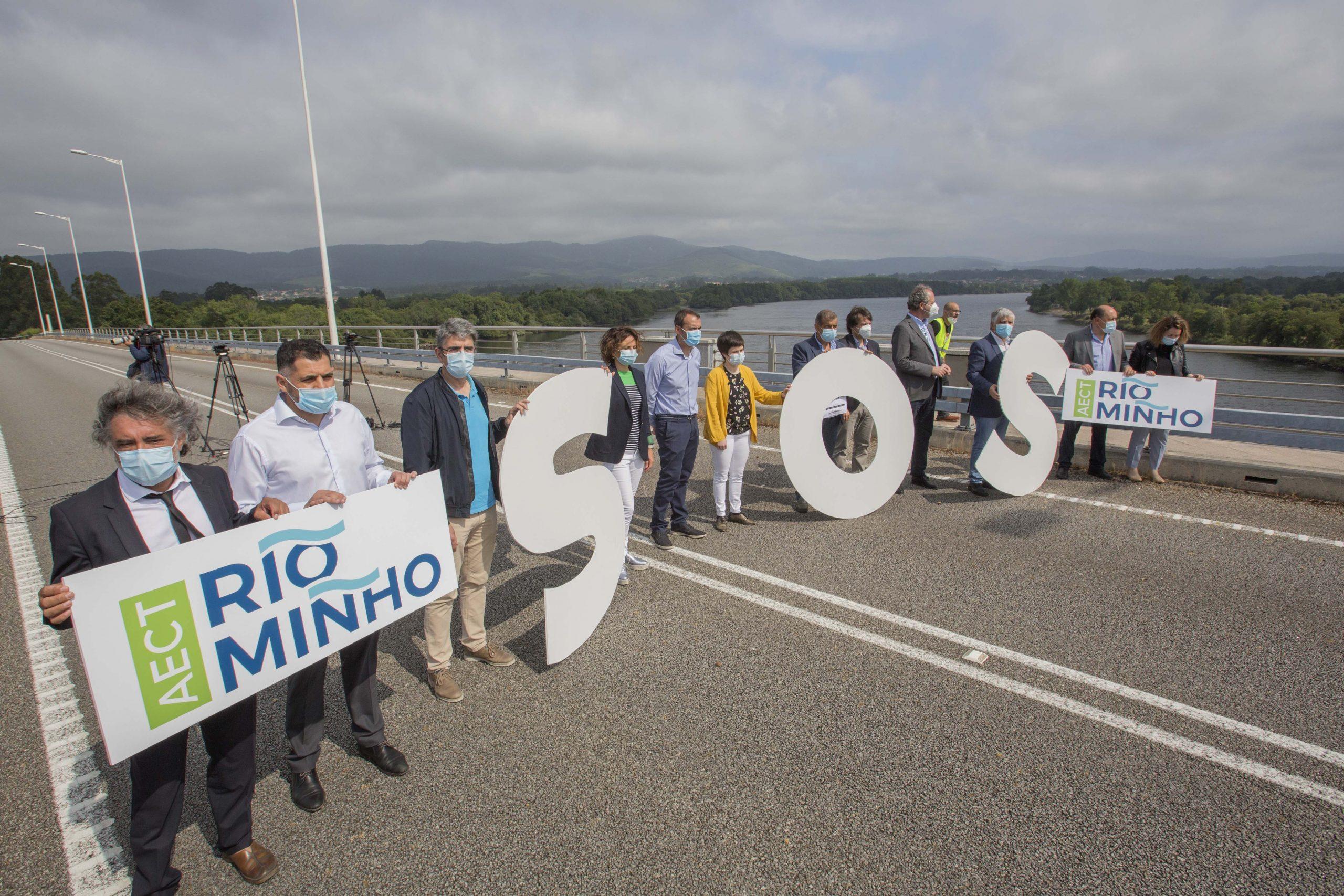 O AECT Río Miño advirte de que o peche de fronteiras de Portugal non debe repetir o erro de dificultar a