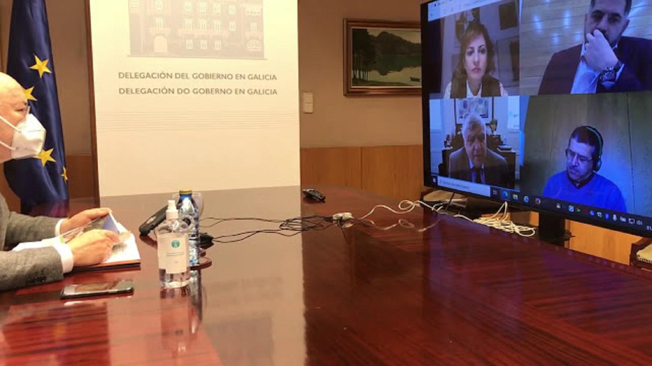 Os concellos do AECT Miño reúnense para decidir actuacións sobre o peche da fronteira con Portugal