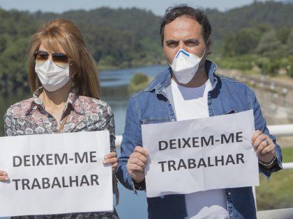 rexistro de persoas afectadas polo peche de fronteiras de Portugal